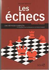 echecs livre chess book méthode  'Les Echecs' M. Benoit 1999 signed autograph