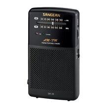 Sangean AM/FM Analog Pocket Radio SR-35 FM Radio NEW