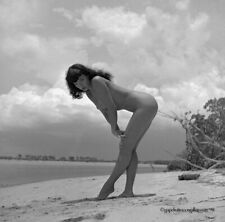 Bettie Page Original 1954 Camera Negative Bunny Yeager Estate Nude Unpublished