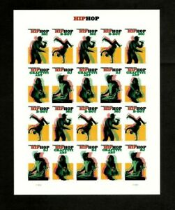 USPS SC 5480-5483 - 2020 - Hip Hop - Sheet of 20 Forever Stamps - MNH
