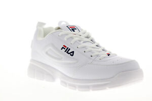 Fila Disruptor SE 1SX60022-166 Mens White Lace Up Lifestyle Sneakers Shoes