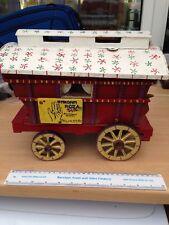 Madam Roma Romany Gypsy Palmistry Caravan Hand Made Antique Miniature