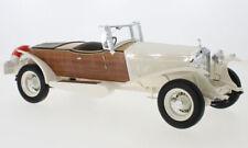 1932 Rolls Royce Phantom II Barco Cola Tourer Blanco/Madera 1/18 Escala Le De