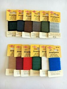 Kleiber Darning Wool 20 Meters Variety of Colours High Quality