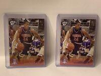 2 2004 Press Pass Basketball Reflectors Proofs #16 & #B16 Andre Iguodala