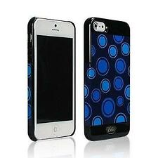 Wholesale Lot of 24 iSkin VBPKD5-BE1 Vibes Case for iPhone 5/5S - Blue Polka Dot