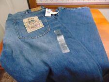 Polo Ralph Lauren Hampton Straight Cedar Blue Dungarees Jeans 42T-36 NWT
