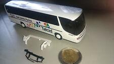 Rietze 1:87 Modellbus Kässbohrer Setra Talcid TSV Bayer Leverkusen 04 Fußballbus