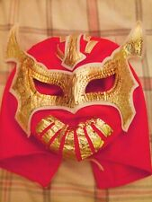 WWE Rey Mysterio mask for youth orange color