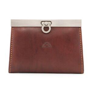 Genuine Italian Leather Frame Purse By Tony Perotti - RRP £35.00