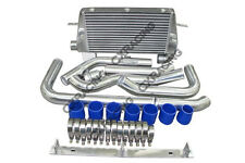 CXRacing Intercooler + Piping Kit For 86-92 TOYOTA SUPRA MK III MK3 7MGTE 7M-GTE