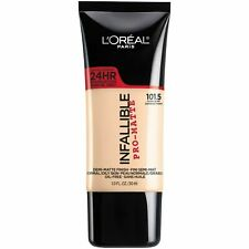 L'OREAL INFALLIBLE PRO-MATTE 24HR FOUNDATION NEW & SEALED 101.5 IVORY BUFF