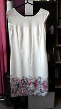 Gorgeous ELIZABETH Ladies White Dress. US Size 8.