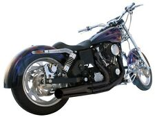 Harley Dyna 2 into 1 Short Style Exhaust