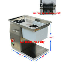 110v Qx Meat Cutting Machine Meat Slicer Body 3 8mm 10mm 15mm Blade Available