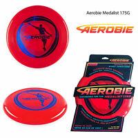 Aerobie Medalist 175G Metallic Red Frisbee Outdoor Sport Flying Disc Garden Game