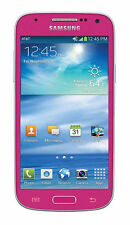 Samsung Galaxy S4 Mini SGH-I257 16GB Pink AT&T Smartphone Excellent Condition
