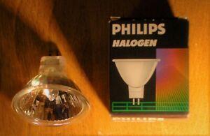 """50 watts halogene light bulb clear 36o, GU 5,3, 12 Volts, bi pins, 2 pins, 2"""""""