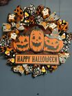 halloween pumpkins wreath