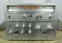 Pioneer SA-9500 Stereo Amplifier W/ Pioneer TX-9500 Stereo Tuner Tested/Working