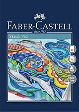 Faber Castell Creative Studio Sketch Pad, A5 100 gsm Pad of 50 Sheets