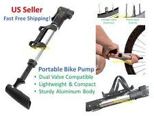 Mini Compact Portable Road Mountain Bike Cycling Pump Air Tire Presta Schrader