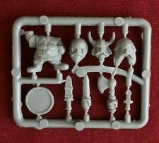 Citadel Miniatures - Early Plastic Sprue - Psychostyrene Dwarfs