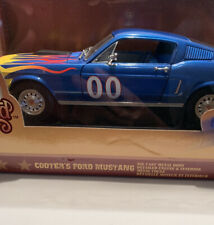 DUKES OF HAZZARD---COOTER'S FORD MUSTANG 1968-----JOHNNY LIGHTNING----1/18