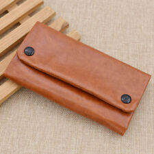 Synthetic Leather Tobacco Pouch Tobacco Storage Wallet Bag Purse Portable