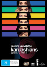 KEEPING UP WITH THE KARDASHIANS - SEASON 14 PART 1  -  DVD - UK Compatible