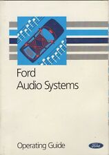 Ford Audio Systems Operating Guide