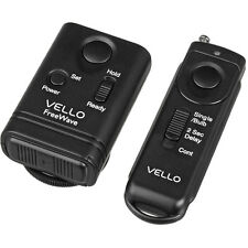 Vello FreeWave Remote Shutter Release for Select Canon/Pentax/Samsung/Contax