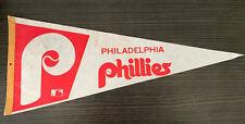 Philadelphia Phillies Vintage Original Full Size Pennant Old Logo
