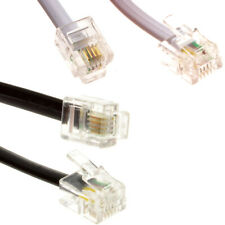 More details for rj11 to rj11 adsl router cable telephone lead for bt/sky/plusnet broadband phone