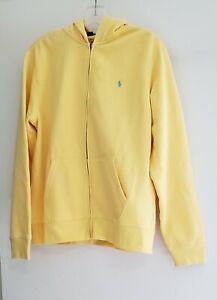 Polo Ralph Lauren Big Boys Fleece Full Zip Hoodie Empire Yellow Sz XL (18-20)
