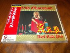 LEON'S SALE:AXEL RUDI PELL -WILD OBSESSION 1990 CD JAPAN OBI TECP-25095 RARE!!!