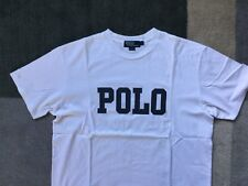 Polo Ralph Lauren Vintage camiseta Grande Oso De Nieve De Playa