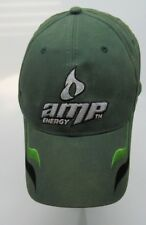Amp Energy Dale Jr. 88 Green NASCAR Racing Adjustable Hat B3