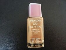 Revlon Age Defying Makeup/Foundation- SAND BEIGE #10 - NORMAL / COMBINATION- New