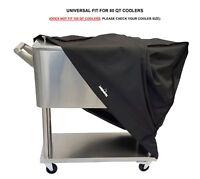 Cooler Cart Cover - Universal Fit For Most 80 QT (qt) Rolling Cooler (Patio