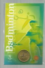 2000 SYDNEY OLYMPIC GAMES BADMINTON  PICTOGRAM  COIN CLOSING DOWN #4