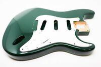 Eden® Premier Series DIY Alder Hardtail Strat Body British Racing Green