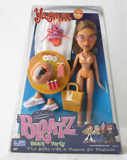 RARE 2002 BRATZ YASMIN DOLL BEACH PARTY COLLECTION MGA EUROPEAN NEW SEALED !
