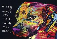 Beautiful Psychedelic Pug Dog Image Picture Poster Home Art Print Wall Decor zb