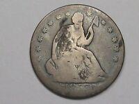 1853 US Seated Liberty Half Dollar.  #7