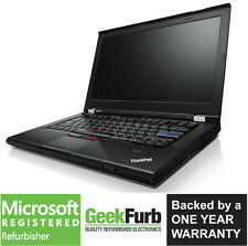 Lenovo ThinkPad T420 Laptop i5-2520M 2.5GHz 8GB RAM 320GB HDD Windows 10 Pro