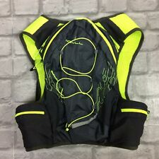 RONHILL PIONEER 8L HYDRATION RUNNING VEST NEON YELLOW GREY ONE SIZE RRP £80 KL