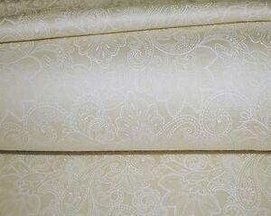800TC Egyptian Cotton SHEET SET Sateen Ivory Floral