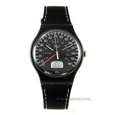 Swatch Uhr New Gent BLACK BRAKE (SUOB117) (NEU + OVP)