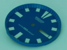 Replacement Blue Dial + CHAPTER RING For Seiko 6309 6309-7290